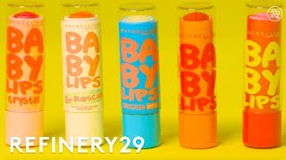 Download How Maybelline Baby Lips Are Made | How Stuff Is Made | Refinery29 Video