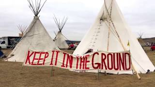 Download Living at Standing Rock: Water Protectors in Tipis Video