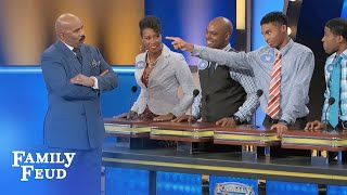 Download Find out why Tre lost cellphone privileges... for TWO YEARS! | Family Feud Video