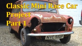 Download Classic Mini Race Car Project | Part 1 Video