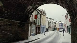 Download Snow Scenes at Youghal, Co. Cork Ireland - 01/03/2018 - (4K) Video