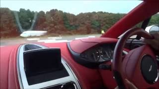 Download 200 MPH Ride in Aston One 77+ amazing sounds top speed run! Video