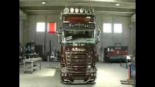 Download Scania R730 V8 Black Amber Tuning By Team Marra-Creating Tuning Video