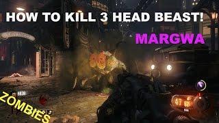 Download BLACK OPS 3: HOW TO KILL 3 HEAD BEAST! MARGWA (BO3 ZOMBIES) Video
