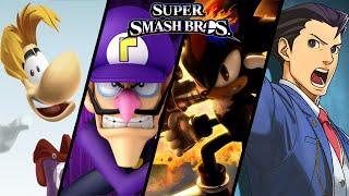 Download Super Smash Bros TOP 10 Fan-Made Trailers - Waluigi, Shadow & More Video