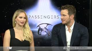 Download Jennifer Lawrence and Chris Pratt - Telemadrid interview Video