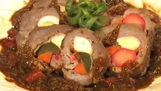 Download Noche Buena Morcon - Filipino Beef Roll Recipe Video