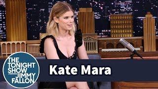 Download Kate Mara Turned Fiancé Jamie Bell Into a Bigger NY Giants Fan Than Herself Video