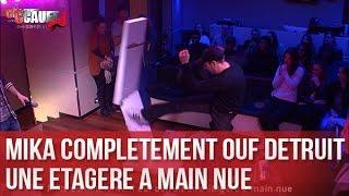 Download Mika complètement ouf détruit une étagère à main nue - C'Cauet sur NRJ Video