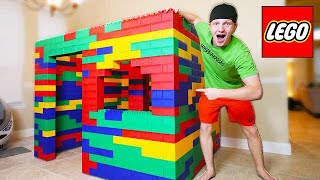 Download BUILDING WORLDS BIGGEST LEGO HOUSE! (LIFE SIZE) Video