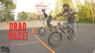Download THE BMX DRAG RACE! Video