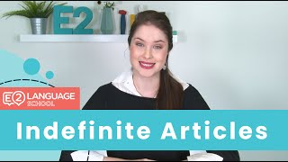 Download English Grammar: What are Indefinite Articles? Video