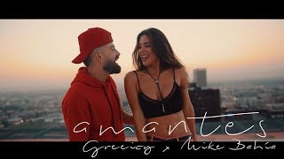 Download Greeicy ft Mike Bahía - Amantes (Video Oficial) Video