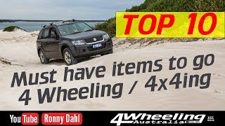 Download Top 10 Must have 4 Wheeling Video