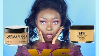 Download Battle Of The Long Lasting Setting Powder | Dark Skin Video