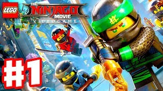 Download The LEGO Ninjago Movie Videogame - Gameplay Walkthrough Part 1 - Prologue and Three Chapters! Video