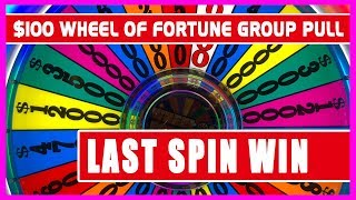 Download 💰$100/SPIN Wheel of Fortune 60 PERSON GROUP PULL 🎰✦ Brian Christopher Slots 👫RUDIES Weekend 2018 Video