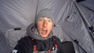 Download MY BIGGEST Mistake Ice Fishing (DUMB) Video