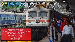 Download DECCAN QUEEN EXPRESS : 88th Birthday Celebration At Pune Junction | INDIAN RAILWAYS Video