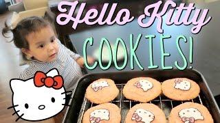 Download BAKING HELLO KITTY COOKIES! - July 10, 2016 - ItsJudysLife Vlogs Video