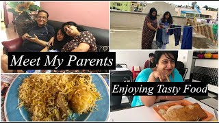 Download India Vlog : Meet My Parents || Enjoying Tasty Food || Simple Living Wise Thinking Video