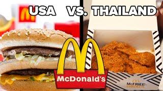 Download Trying American Vs. Thai McDonald's Video