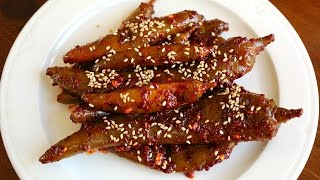 Download Korean Style Green Chili Pepper Pickles (Gochu-jangajji: 고추장아찌) Video