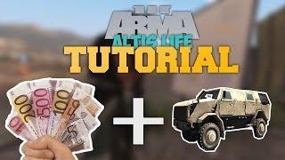 Download Arma 3 - Altis Life TUTORIAL #1 Erstes Geld, Erstes Fahrzeug, Erste Schritte! [Deutsch/German] Video