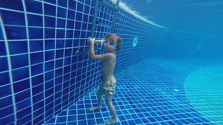 Download Hotel Pool Jumps Fun - Maldives Holidays Video