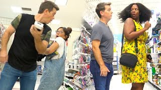 Download Sneaking Up On People - SCARING PEOPLE OF WALMART! - Funny Video Video