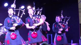 Download Red Hot Chilli Pipers St Andrew's Day Perth Perthshire Scotland Video