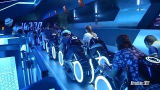 Download [HD] Amazing TRON Coaster Ride-through - Shanghai Disneyland Video