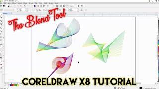 Download Creative Use of Blend Tool | CorelDraw X8 Tutorial | The Teacher Video
