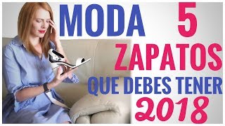 Download 5 Zapatos de Moda que Debes Tener este 2018 Video