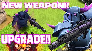 Download Clash Of Clans - NEW UPGRADE!! PEKKA CANNON V.2 (Swag Raids) Video