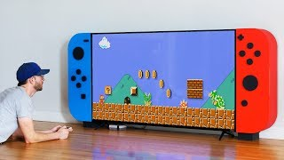 Download I made a GIANT NINTENDO SWITCH... with storage for my video games! Video