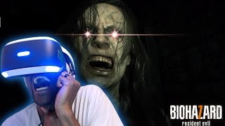 Download HEART ATTACK INCREASED BY 1000% | Resident Evil 7: Biohazard #1 [PlayStation VR] Video