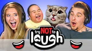 Download Try To Watch This Without Laughing or Grinning #52 (REACT) Video