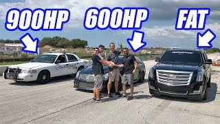 Download Crown Vic Owner Shows Up To The Track Uninvited...And Leaves In Tears! (Escalade vs Everyone) Video