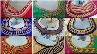 Download 100 simple and latest back neck designs of a blouse   fashion designing Video
