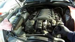 Download Mercedes S430 B Service Part One Video