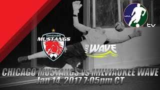 Download Chicago Mustangs vs Milwaukee Wave Video