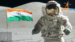 Download Indian Tricolour on moon Video
