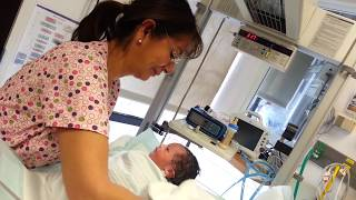 Download New Born Baby's First Bath Video