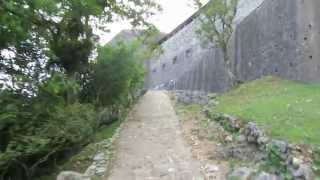 Download Road up to the Citadelle near Cap Haitien, Haiti - National History Park, UNESCO World Heritage Site Video