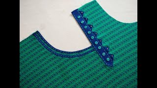 Download Latest And Stylish Neck Design Cutting And Stitching Video