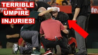 Download MLB | TERRIBLE UMPIRE INJURIES! | 1080p HD Video