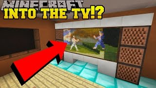 Download Minecraft: GOING INTO THE TV?!? - Hidden Buttons 7 - Custom Map Video