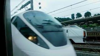 Download 【上野駅 同時発車2017】 今に残る特急同時発車を見る!! ひたち&草津 Video