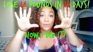 Download How I lost 14 Pounds In TEN DAYS! 10 Day Green Smoothie Cleanse Video
